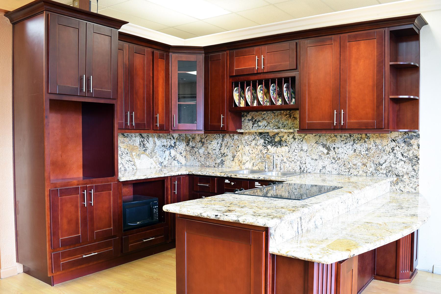 Cherry Shaker Deco Kitchen And Bath